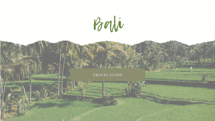 Bali – TRAVEL GUIDE